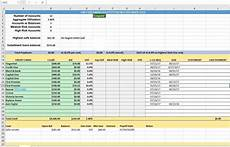 Credit Card Balance Sheet Template Credit Card Utilization Tracking Spreadsheet Credit Warriors