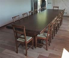 tavoli legno allungabili tavoli taverna 5 metri su arredare su misura