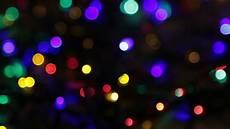 Christmas Black Light Drama Blurred Christmas Lights Abstract Background On Black