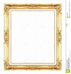 cornici immagini cornici antiche dell oro isolato su bianco fotografia
