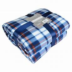 soft warm 200x240cm king size tartan check sofa throw bed