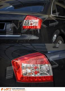 Audi A4 Prnds Lights Clear Red Led Lights For Audi A4 S4 Rs4 B6 01 05