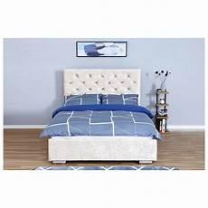 chagne niva ottoman velvet bed frame on onbuy