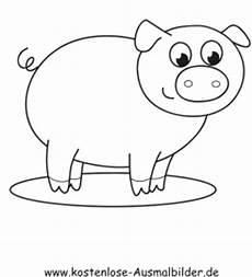 Schwein Malvorlagen Bilder Kostenlose Ausmalbilder Ausmalbild Schwein 4