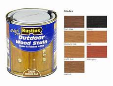 Light Oak Outdoor Wood Stain Rustins Quick Dry Outdoor Wood Stain Walnut Teak Oak