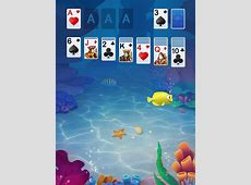 Solitaire Klondike Fish App for iPhone   Free Download