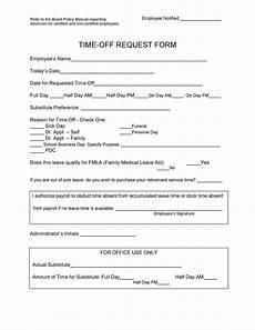 Time Off Request Form Template 40 Effective Time Off Request Forms Amp Templates ᐅ Templatelab