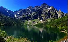 Poland Nature 4k Wallpaper by Wallpapers Morskie Oko Summer 4k Mountains