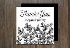 thank you card photoshop template free thank you card card templates creative market