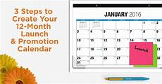 How To Make A 12 Month Calendar In Word 3 Steps To Create A 12 Month Launch And Promotion Calendar