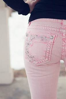 Light Pink Miss Me Jeans I Love Skinny Jeans And This Colour Plus The Pocket