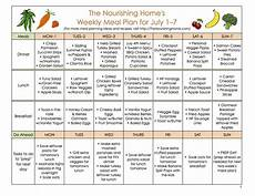 How To Meal Plan For A Month Meal Plan Monday June 24 July 7 The Nourishing Home