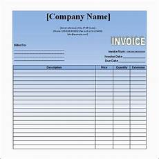 How To Write A Bill For Services Rendered Sample Invoice For Service Rendered Invoice Sample