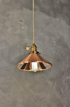 Pendant Reflector Light Industrial Pendant Lamp W Cone Mirror Reflector Shade
