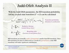 Judd Ofelt Theory Judd Ofelt Theory Principles And Practices