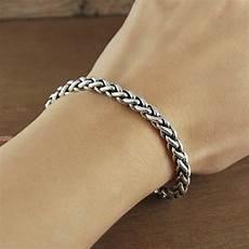 Rope Bracelet Designs Solid Sterling Silver Rope Bracelet By Otis Jaxon
