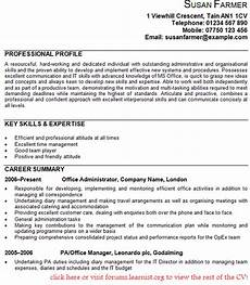 Admin Cv Examples Uk Office Administrator Cv Example Learnist Org