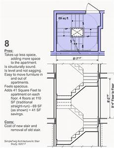 Floor Plan Stairs Analysis Of Residential Stair Configurations For