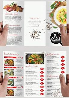 Food Brochure Templates 30 Free Brochure Templates For Food Health Amp Beauty And