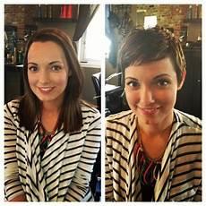 kurzhaarfrisuren frauen vorher nachher metamorphosis of hair hairstyles hair photo