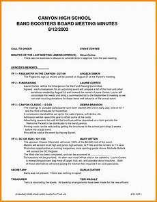 Standard Meeting Minutes 10 How To Write A Minute Of A Meeting Proposal Resume