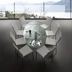 vetro tavolo tavolo allungabile in vetro dent emporio3 arredamenti
