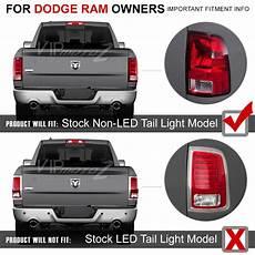 Ram Brake Light Bulb Smoke 2010 2017 Dodge Ram 1500 2500 3500 Full Led Rear
