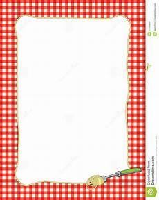 Recipe Borders Cooking Clipart Border 101 Clip Art