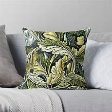 quot acanthus a william morris vintage pattern quot throw pillow