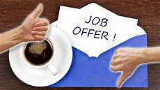Job Offer How To Accept And Decline Job Offers