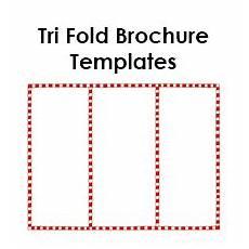 Free Blank Tri Fold Brochure Templates Free Tri Fold Brochure Templates Blank Printables