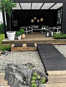 uteplass dekor lun uteplass ved sj 216 en japanske hager hage lounge og
