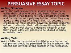 Persuasive Essay Cell Phones Persuasive Essay Cell Phones Should Never Used While