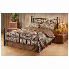 tranquil sleep decorative metal bed frame 633386