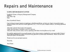 Letter To Landlord Requesting Repairs Template Sample Letter To Landlord For Repairs 2 Sample Request