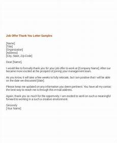 Thank You Letter After Job Fair 10 Sample Format Of Thank You Letter Template For Job