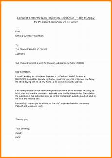 Sample Of Noc Letter From Company Doc Noc Certificate For Passport Objection Letter Job