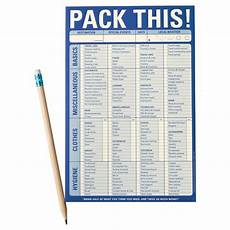 Pack This Checklist Printable Packing Checklist Pack This Classic Checklist The