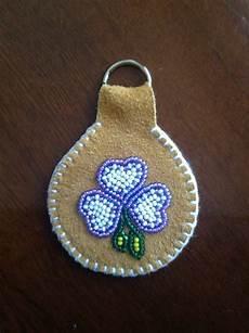 beaded key chain dennis tahltan beaded brooch
