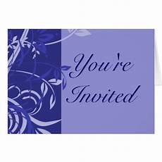 You Re Invited Templates Template Rsvp You Re Invited Blue Card Zazzle