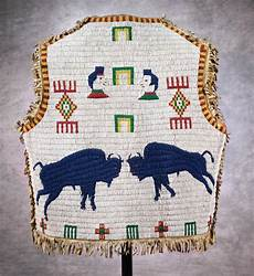 beadwork sioux sioux pictorial beaded vest