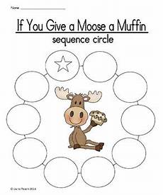If You Give A Moose A Muffin Pdf If You Give A Moose A Muffin Sequencing Activities By