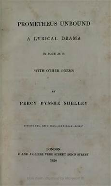 Poetry By Percy Bysshe Shelley