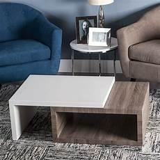 tavolo contemporaneo tavolo basso contemporaneo bicolore mobili contemporanei