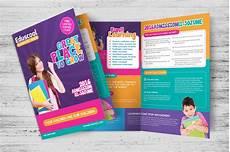 School Brochures Templates Elementary School Education Bi Fold Brochure Templates