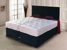 zip and link bed divan bed chenille ortho mattress