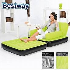 chair air bed single green by booegies9