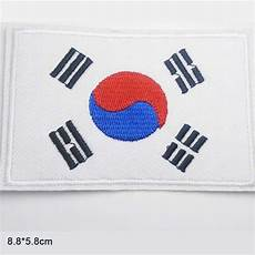 korean clothes for patches south korea national flag iron on patches clothes patches