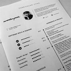 Curriculum Vitae Layout Curriculum Vitae Template Available For Download On Behance