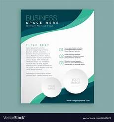 Free Brochure Design Business Flyer Pamphlet Brochure Design Template Vector Image